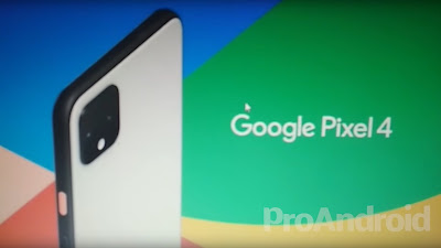 ظهور الصورة الرسمية لهاتف جوجل بيكسل 4 الجديد