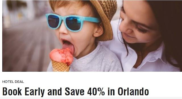 Marriott萬豪推出Orlando奧蘭多金秋特別預購活動,立享房費6折優惠(8/7前預訂)