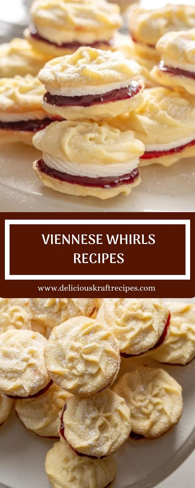 VIENNESE WHIRLS RECIPES