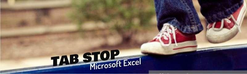 rumus tab stop excel