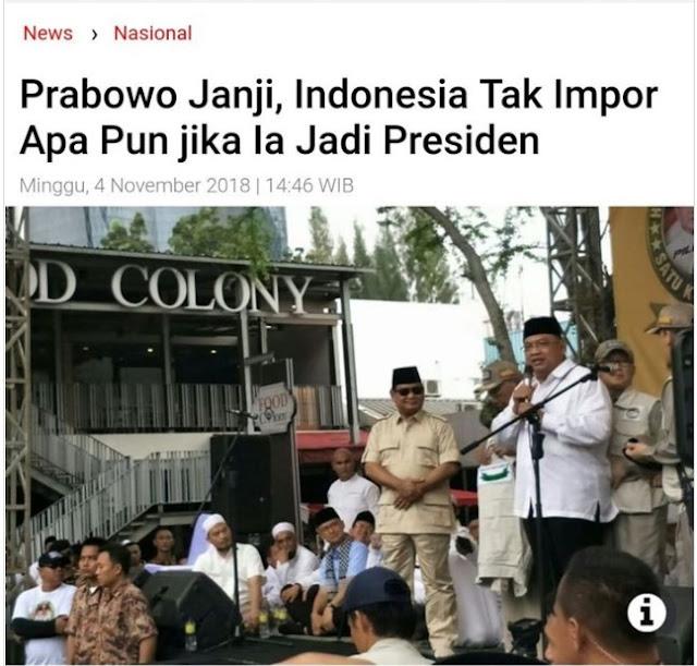 Janji Prabowo