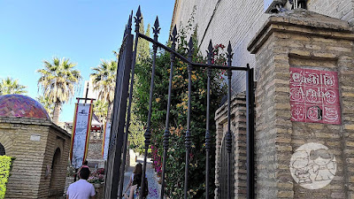 Acceso al Castillo de Utrera.