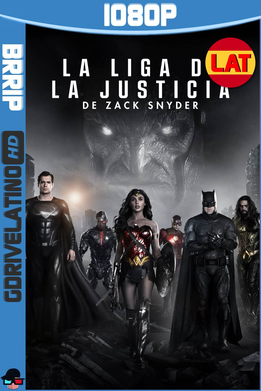 La Liga de la Justicia de Zack Snyder (2021) BRRip 1080p Latino-Ingles MKV