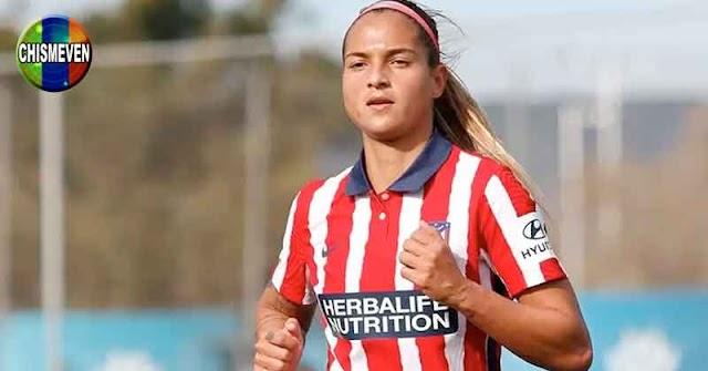 Deyna Castellanos marcó un golazo en la victoria del Atlético frente al Logroño