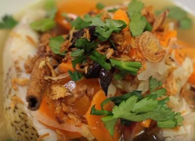 Resepi Sup Ikan Merah Style Orang Bujang