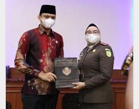 Ketua DPRD Muaro Jambi Hadiri Pisah Sambut Kepala Kejaksaan Negeri Muaro Jambi