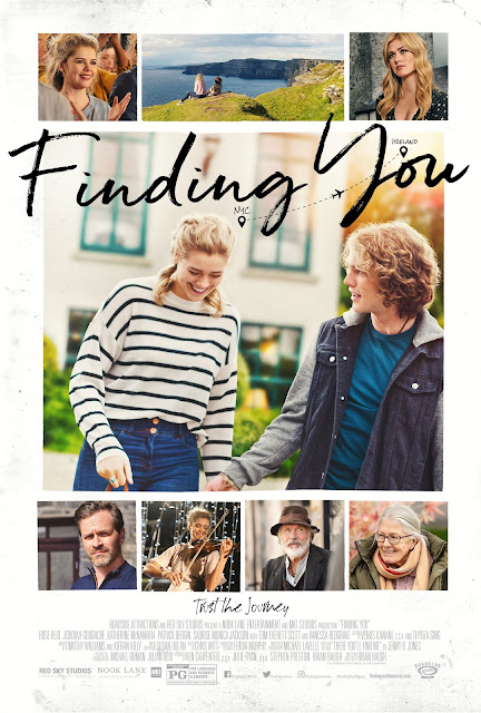$25 Fandango Gift Card, Fandango Giveaway, Finding You Movie, Ireland movie, violinist