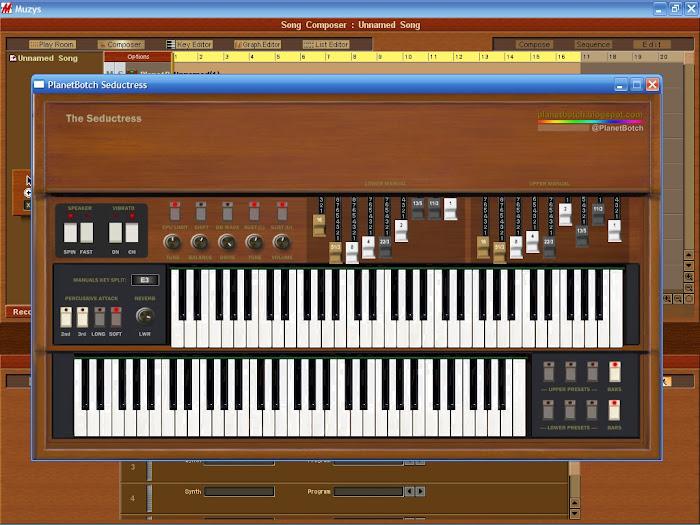 PlanetBotch Seductress - classic tonewheel organ VST plugin