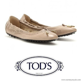 Crown Princess Victoria wore Tod's flats ballerinas
