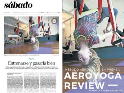 aeroyoga, yoga aereo, air yoga, aerial yoga, fly, flying, prensa, medios, tendencias, tv, notas, articulos, rafael martine, argentina, buenos aires