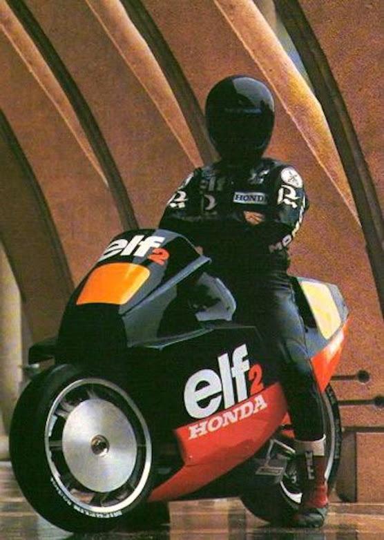 1983 ELF-2 GP Elf Honda Race Bike