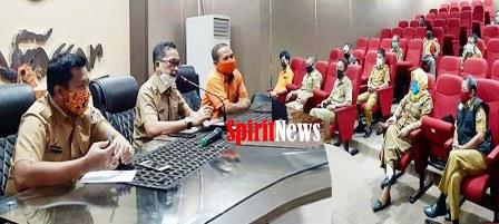 Camat Tallo, Gelar Rakoord Penyaluran Bantuan Sosial Tunai (BST)