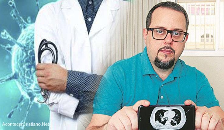 Médico sano de coronavirus