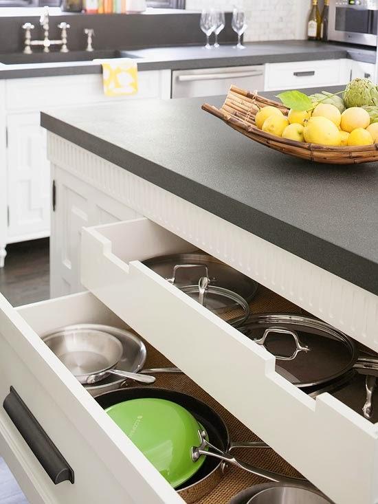 pullout racks utensil organizers added installation smart storage solutions small kitchen design