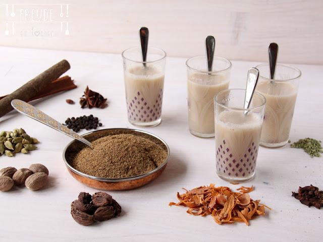 Tee Masala - indische Gewürzmischung - Freude am Kochen