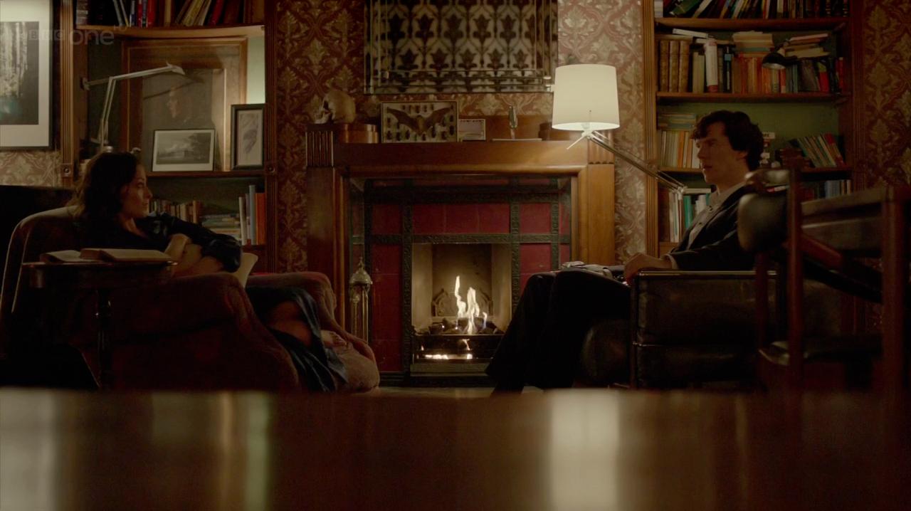 Sherlock Wallpaper Living Room