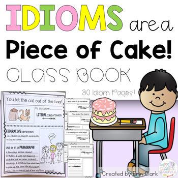 Idioms Activity by Miss Clark's Spoonful on Teachers Pay Teachers