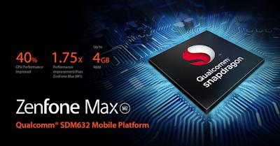 Asus Zenfone Max M2 Processor