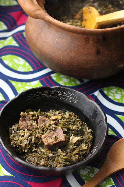 gomen besiga recette ethiopienne