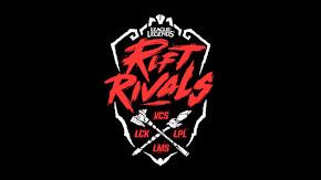 [LMHT] Lịch thi đấu Rift Rivals: Đại Chiến Khu Vực 2019!