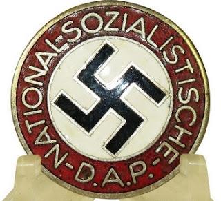 Badge du parti nazi - photo du site web Espenlaub Militaria
