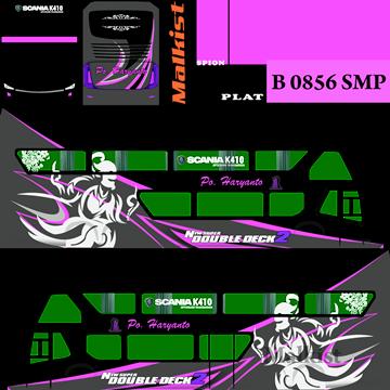 livery bimasena sdd po haryanto purple