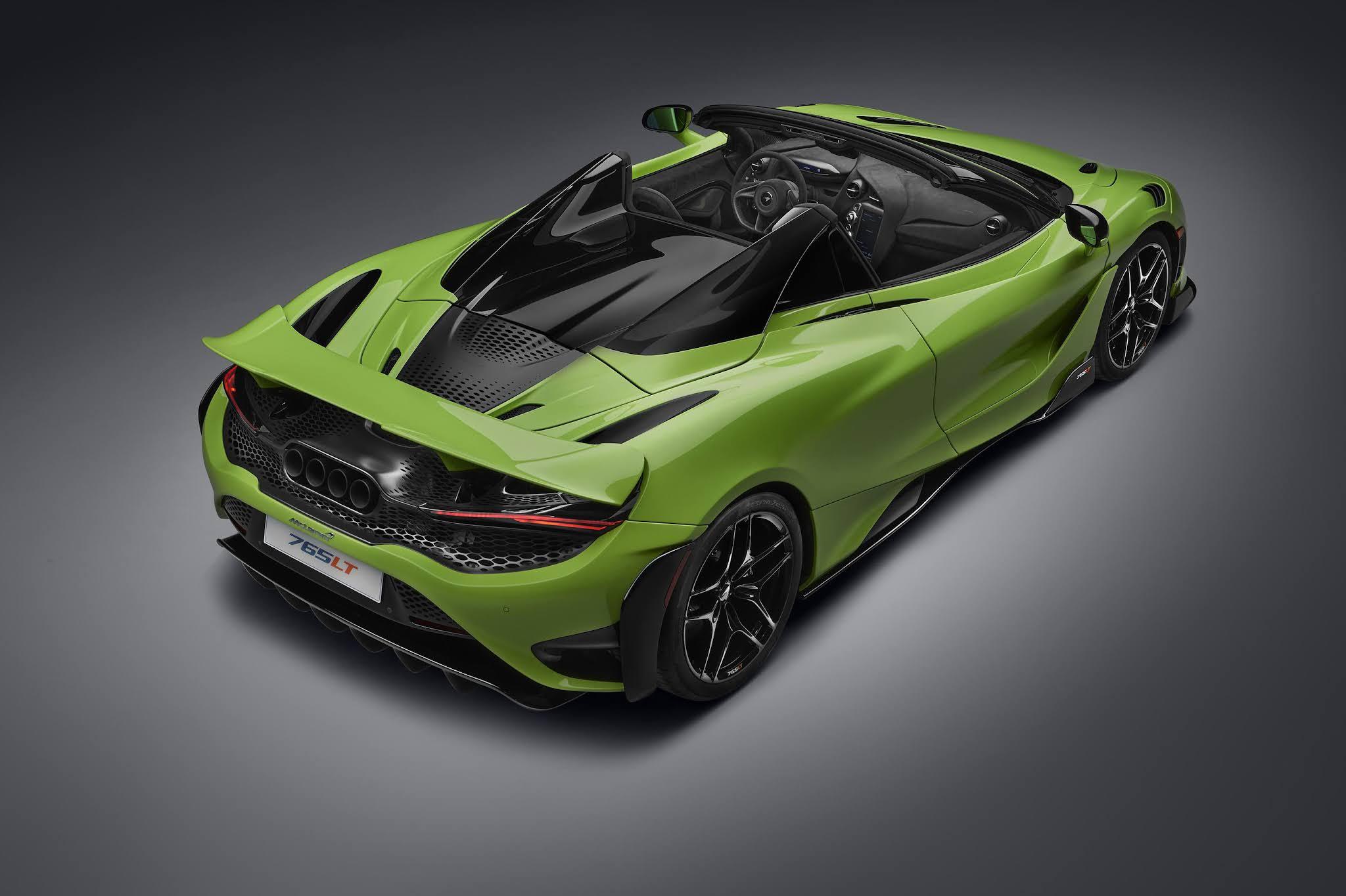 New McLaren 765LT Spider Unveiled