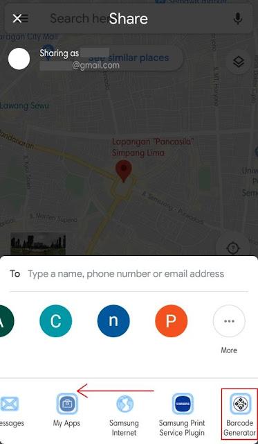 Membuat QR Code dari Google Maps 2