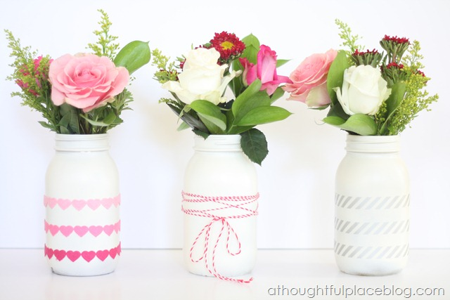 mason jars simple and sweet