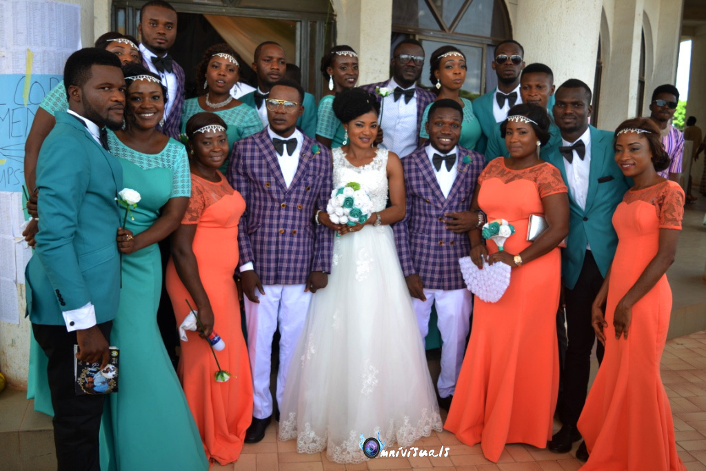 SEE HOW 2 YOUTH CORPERS SHUT DOWN EBONYI STATE WITH THEIR WEDDING (PHOTOS)