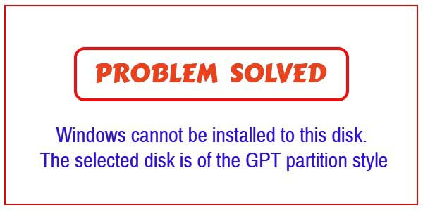 How to tell if disk is gpt