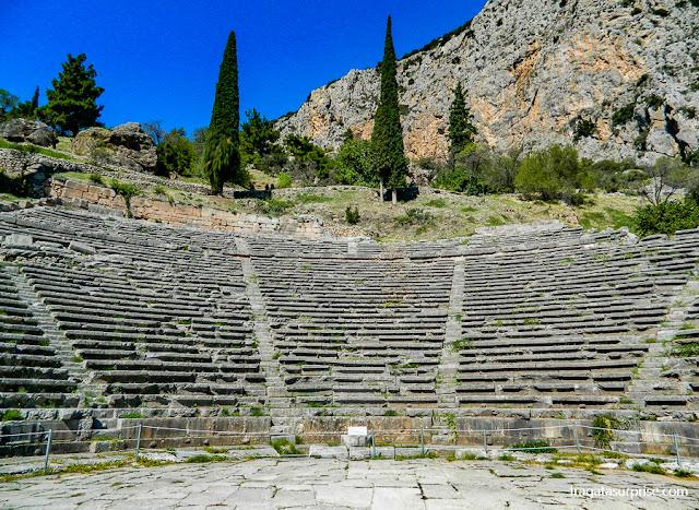 Anfiteatro de Delfos, Grécia