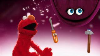 Elmo the Musical Repair Monster the Musical, Elmo and Velvet. Sesame Street Episode 4416 Baby Bear's New Sitter season 44