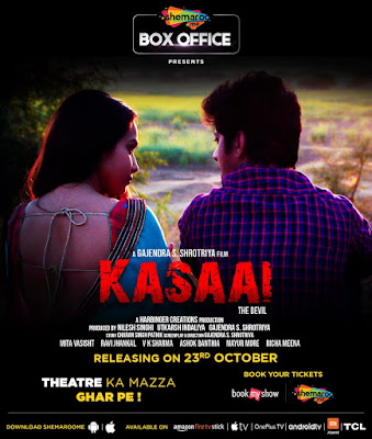 Kasaai 2020 Hindi 720p HDRip 450Mb x265 HEVC