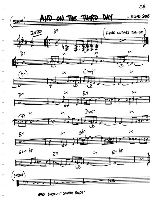 Partitura Flauta Michael Gibbs