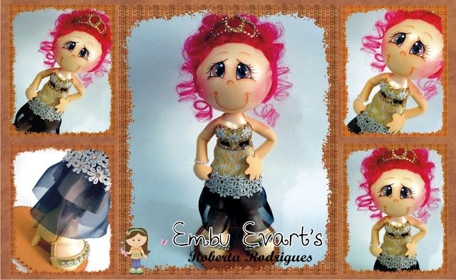 boneca personalizada debutante