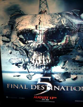 Poster Of Final Destination 5 2011 Hindi Dual Audio  300MB  720p  HEVC Free Download Watch Online world4ufree.org