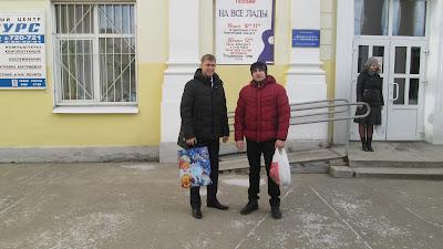 Николай Сорокин и Захватов Анатолий