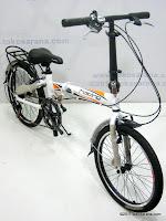 3 Sepeda Lipat ELEMENT COBRA ALLOY 20 Inci