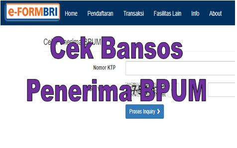 Klik E Form Bri Umkm Co Id Cek Bansos Penerima Bpum Go Bizz