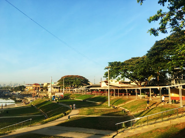 Riverbanks Park officially known as Marikina River Park is a recreational park along Marikina River
