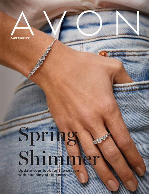 AVON Campaign 13 Brochure 2021 - Spring Shimmer!