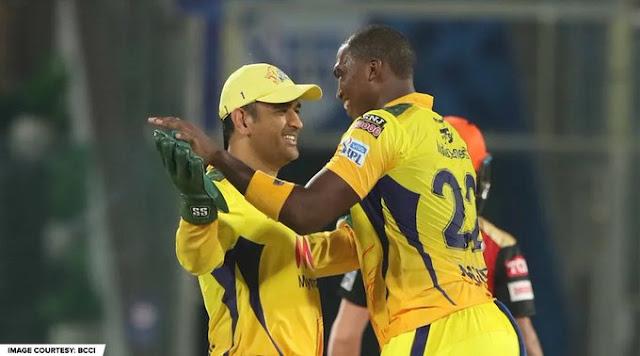 IPL CSK win the match against SRH