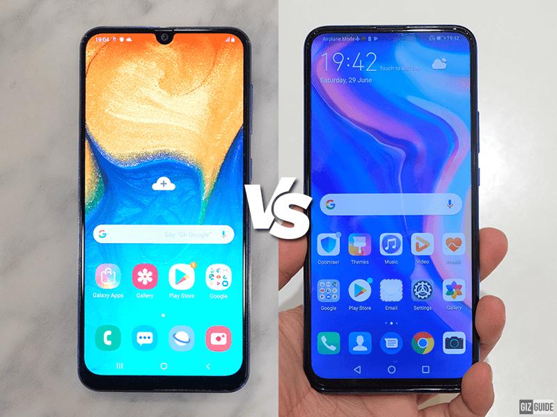 Samsung Galaxy A30 vs Huawei Y9 Prime 2019 Specs Comparison