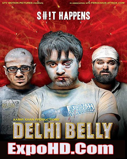 Delhi Belly 2011 Full Movie in Hindi 720p | HDRip x264 [Download]