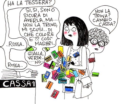Paroladordine I ghirigori di Monila carte fedeltà vignette