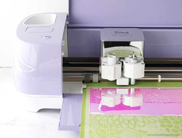Cutting Yoda Cut File with Cricut Explore Machine