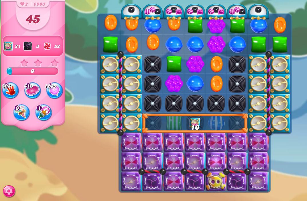 Candy Crush Saga level 9583