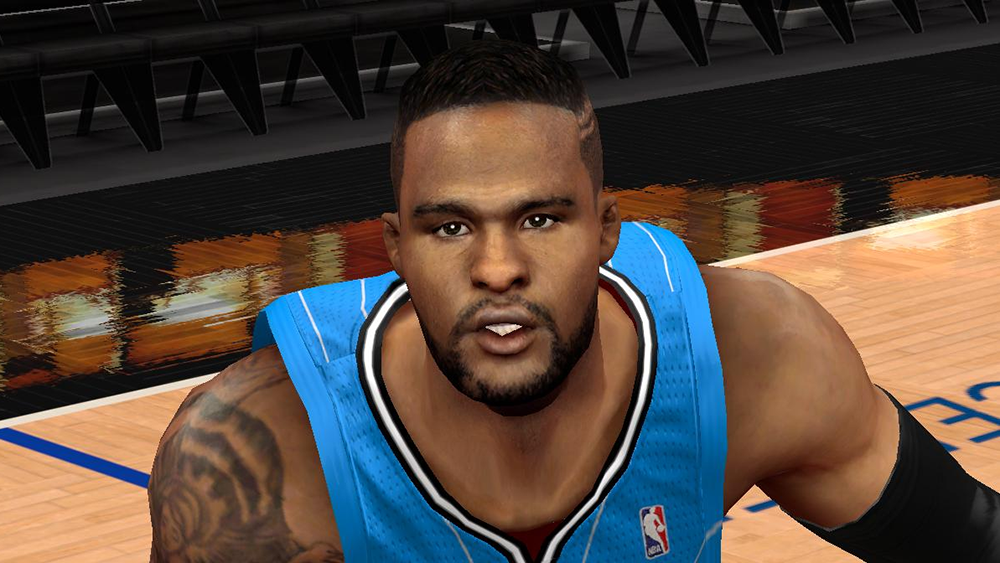 NBA 2K14 Glen Davis Face & Hair Mod