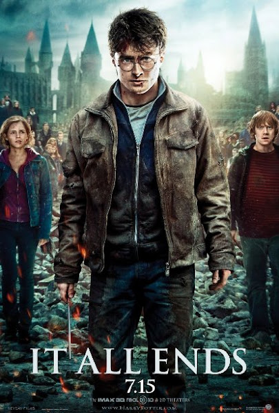Poster Of Harry Potter And The Deathly Hallows Part 2 (2011) 720p Hindi BRRip Dual Audio